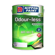 Sơn Nội Thất Nippon Odour-Less Deluxe All-In-1