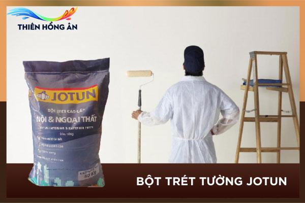 Định mức bột trét tường Jotun