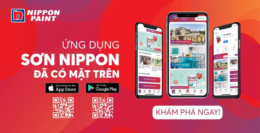 Ứng dụng Sơn Nippon ra mắt vào ngày 20/10/2020