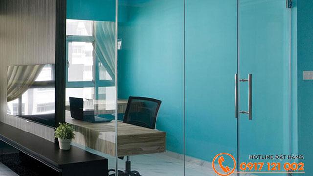 Sistine Blue 66B-1P sử dụng cho phòng làm việc của người mệnh Mộc có phong cách trẻ trung, chuyên nghiệp