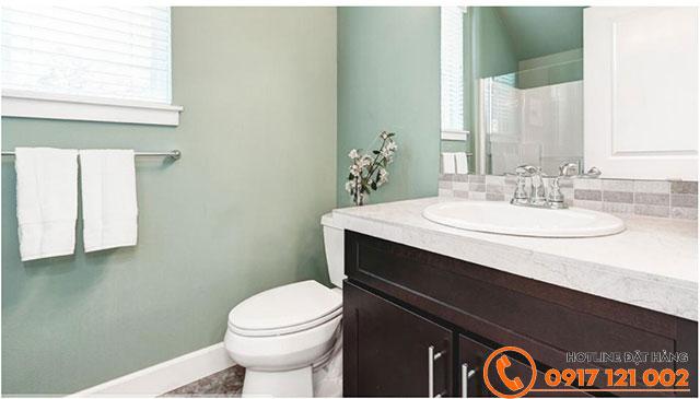 Mẫu phối màu Shell Field (OW058) cho không gian phòng tắm