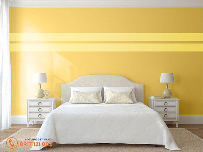 Tông màu vàng được phối kết hợp linh hoạt, uyển chuyển mang đến không gian ấm cúng và hiện đại.